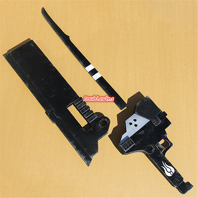 RWBY Blake Belladonna Gambol Shroud Sword Weapon Cosplay Prop PVC Accessory
