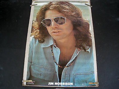 Rare Jim Morrison The Doors 1978 Vintage Original Music Poster