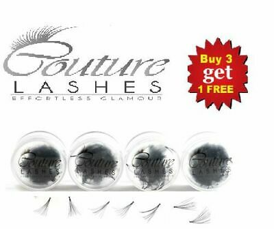 9e11c203f27 300 Individual Cluster Party Eyelash Extensions 4 For 3 Pots -Knot And Knot  Free