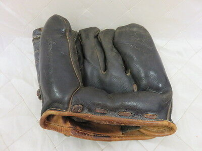 Cooper Weeks Baseball Glove Antique Memorabilia Collectible Gear Team