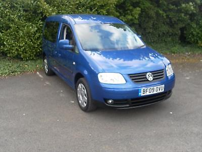 Volkswagen Caddy Maxi Life 1.9TDI  5seat auto DSG Wheelchair accessible vehicle