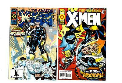 The Amazing X-Men #1-4 The Age of Apocalypse (1995) Marvel VF/NM to NM-