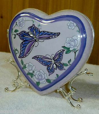 Vintage AVON Mother's Day Porcelain Heart Stand