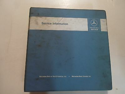 mercedes 560sl 380sl owners electrical service manual w107 new 1974 Mercedes-Benz Wiring Diagrams