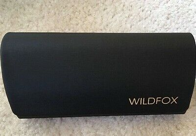 WildFox Couture Sunglasses Hard Case Wild Fox Sealed Cleaning Wipes Brand New
