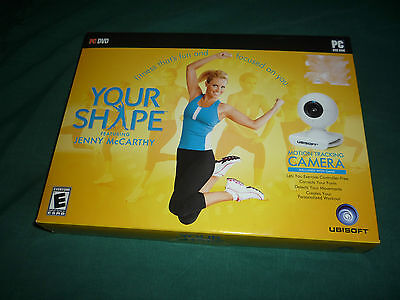 Your Shape Featuring Jenny McCarthy  (PC, 2009) NEW & SEALED!