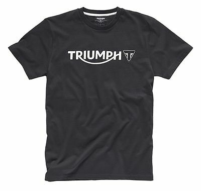 Triumph Mens Logo T-Shirt - Black