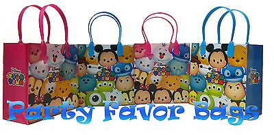 18 pcs Disney Tsum Tsum Party Favor Bags Candy Treat Birthday Gift Toy Sack Bag