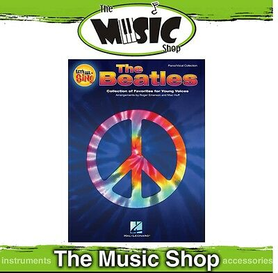 New Let's All Sing the Beatles Classroom Music Book - Vocal & Piano