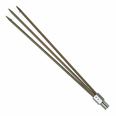 Pole Spear Tip Paralyzer 3 Prong Gigging Fishing Diving
