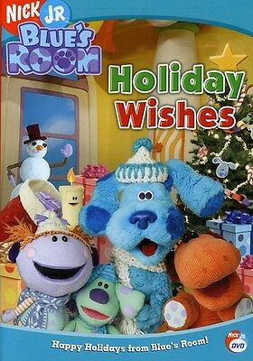 Blue's Clues: Blue's Room - Holiday Wishes (2005, DVD NUOVO) (REGIONE 1)
