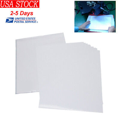 50 Sheets A4 Inkjet Heat Iron On Transfer Paper for Light Color Fabrics T-Shirt