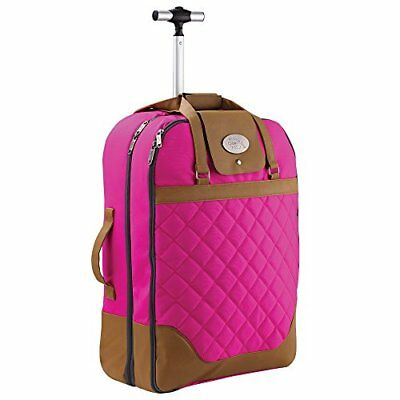 Cabin Max Monaco Dress & Suite Carrier Hand Luggage Trolley Suitcase 55x40x20cm