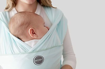 Authentic MOBY WRAP CLASSIC Baby/Infant Carrier-MINT-Authorized Distributor