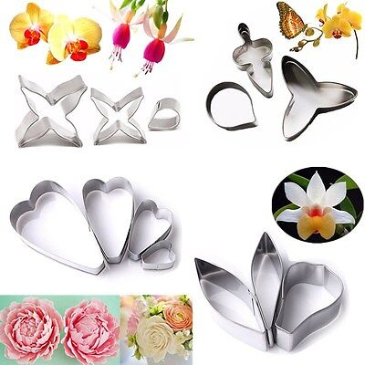 Stainless Steel  Biscuit Cookie Cutter Cake Pastry Fondant Decor Baking Mold