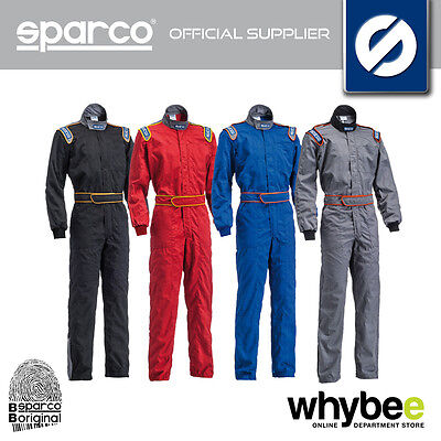 New! Sparco Mx-5 Mx5 Mechanic Suit Overalls Pit Crew - 4 Colours - Sizes S - Xxl