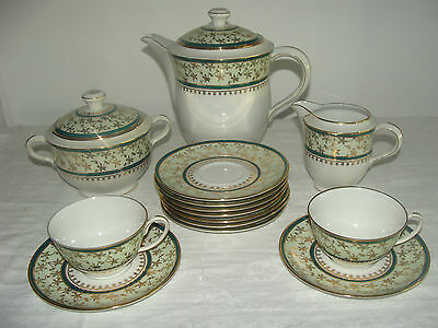 Ancien Service A Cafe En Porcelaine Limoges Ch. Field Haviland Non Complet