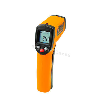 Thermometer Laser Point Infrared Thermo Detector us Infrared Temperature Gun