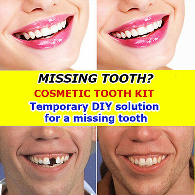 Temporary tooth DIY cosmetic false teeth missing tooth