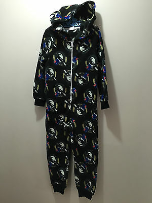 BNWT Boys/Girls Size 12 Official AFL Collingwood Onesie Polar Fleece Sleep Suit