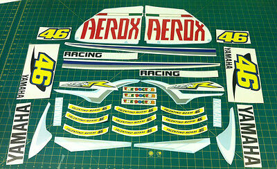 Yamaha Aerox Rossi the doctor  Moto GP Decals Stickers Graphics Kit Sized to Fit