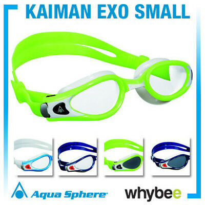 AQUA SPHERE KAIMAN EXO SMALL SWIMMING GOGGLES - UNISEX GOGGLES Blue Black White