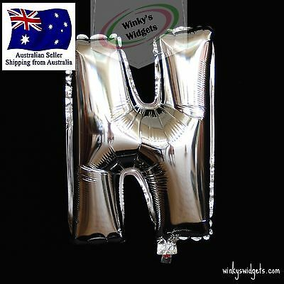 'N' Silver Foil Letter Balloon 40cm - Wedding Hen Party Birthday Engagement