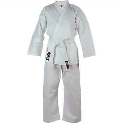 Blitz Kids Polycotton Lightweight Karate Suit / Gi / Uniform - White