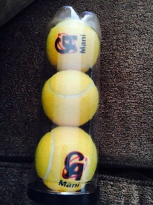 1 X Pack CA Mani Cricket Tennis Ball & Free Postage