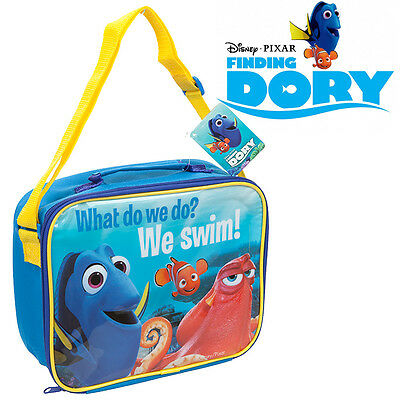 Finding Dory Nemo Disney Pixar Childrens Lunch Bag Lunchbox Cool Bag Insulated