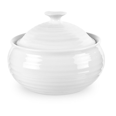 Sophie Conran Portmeirion White Small Round Lidded Casserole Pot 11.5cm CPW76527