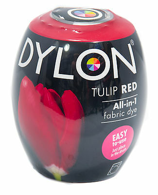 Dylon Tulip Red Machine Dye Pods No.36 Fabric Dye (Discount for Qty)
