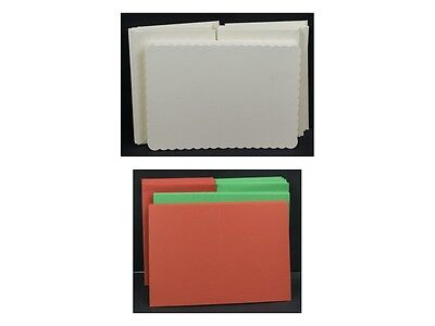 "5"" x 7"" Cards with Matching Envelopes - Wide Selection"