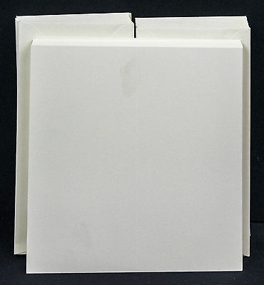 "4"" x 8"" DL Cards with Envelopes - White or Ivory"