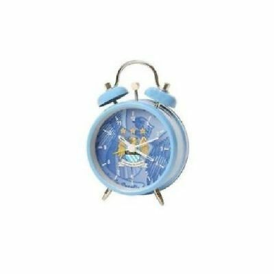 Manchester City Football Club Blue Alarm Clock