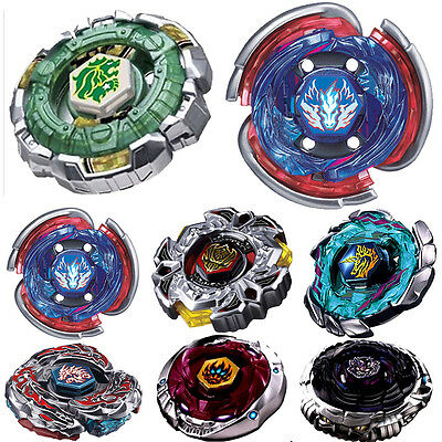 Rare Beyblade Fusion Top Metal Fight Master 4D Rapidity Launcher Set Kid's Toy