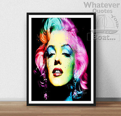 Marilyn Monroe Quote Wall Art Poster Print Cool Gift All Sizes Frame