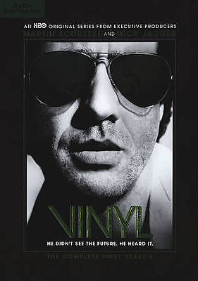 Vinyl: The Complete First Season (DVD, 2016, 4-Disc Set) brand new