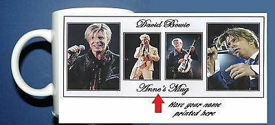 David Bowie - Personalised Coffee Mug,