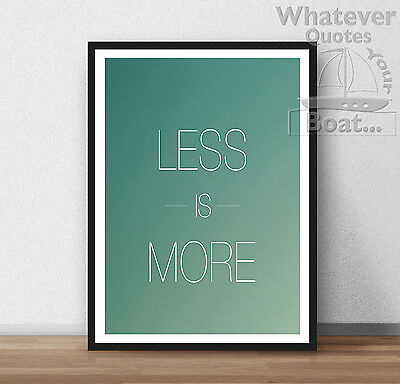 LIFE Quote Motivation Success Inspire Poster Print Frame AWESOME LOVELY