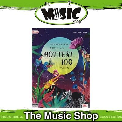 New Triple J's Hottest 100 Volume 22 PVG Music Book - Piano Vocal Guitar