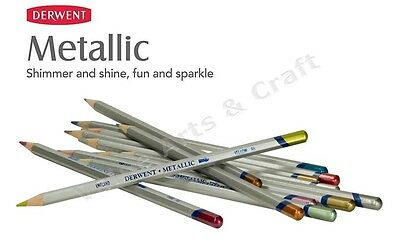 Derwent Metallic Colour Pencils (Any 3 Pencils)