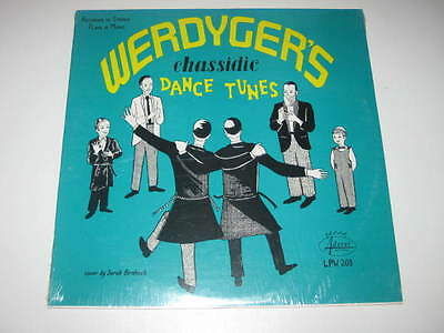 LP/WERDYGER`S CHASSIDIC DANCE TUNES/CHASSIDIC ORCHESTRA/Aderet LPW 203 SEALED