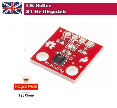 Temperature AND Humidity Sensor Breakout Module - HTU21D Arduino Raspberry Pi