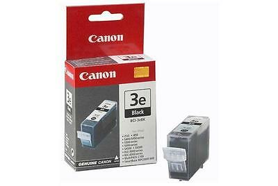 Canon BCI3EBK BCI-3eBK Black Ink Tank Cartridge