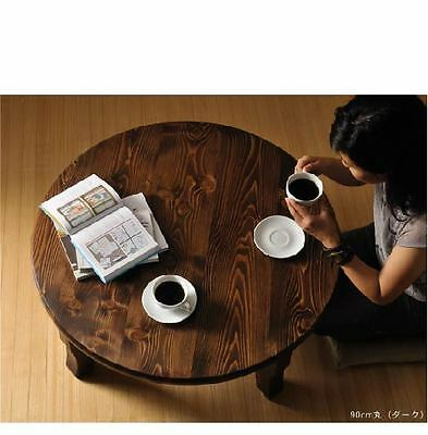 Chabudai, Japanese traditional family round table, high quality hand made table