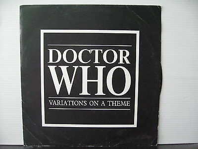 """Various DOCTOR WHO Variations on a Theme 12"""" VINYL Free UK Post"""