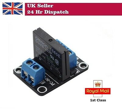 5V 1 Channel Solid State Relay SSR  Low Level Trigger for Arduino Raspberry Pi