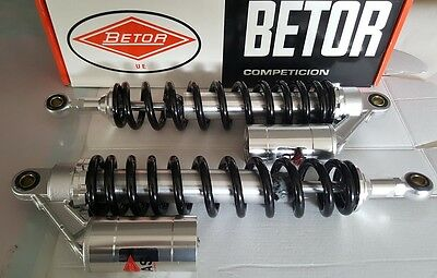 Pareja Amortiguadores Betor Gas Enduro Motocross 390mm Twin Shocks Absorbers