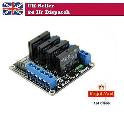 5V 4 Channel Solid State Relay module for Arduino Raspberry Pi